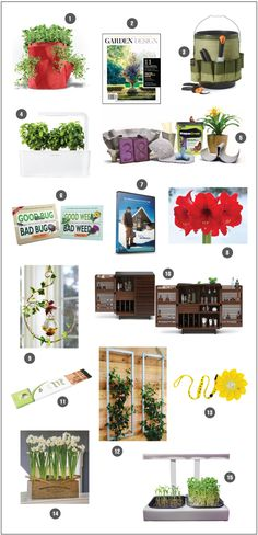 Check out Urban Garden's 15 fun, functional and fashionable items for the home and garden. We spy a Fiskars tool that is perfect for helping with bulb and seed planting or weeding the garden.