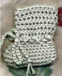 100 free baby booties patterns