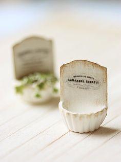 miniature french planter - so cute
