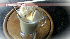 Mrożona kawa rumowo-śmietankowa