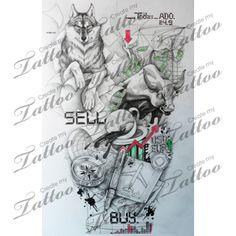 Tattoo for the CFO (Chief Financial Officer) | yuuiiooo #165708 | CreateMyTattoo.com