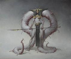 Girl – fantasy/horror concept by Bogdan Rezunenko Monster Art, Monster Concept Art, Fantasy Monster, Monster Design, Dark Fantasy Art, Creature Concept Art, Creature Design, Fantasy Creatures, Mythical Creatures