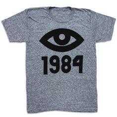 1984 Tee Unisex Gray