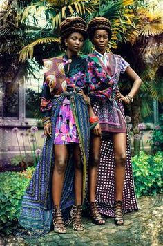 Zion Tribe: Aliane Uwimana Gatabazi and Rachelle Mongita photographed by Maëlle André for MOTEL Magazine DK