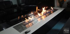 Video on Ethanol Burner Inserts, the Art of Modern Bio Fireplaces AFIRE Bioethanol Fireplace, Fireplace Design, Fireplace Ideas, Fireplace Inserts, Simple House, Small Apartments, Hearth, Living Room Decor, Remote