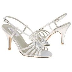 Dyeables Desire Shoes (White) - Women's Wedding Shoes - 8.5 B