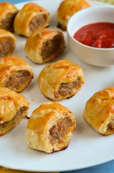 My kids love sausages, I get some awesome ones from a local butcher, but I will occasionally make my own little patties too. Like these deliciousSa