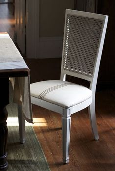painting dining room chairs, milk paint #diy