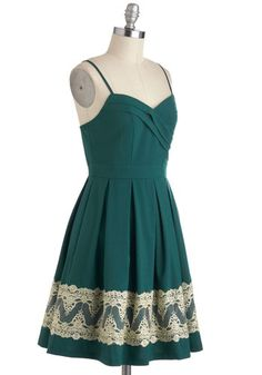 For-evergreen Gala Dress, #ModCloth
