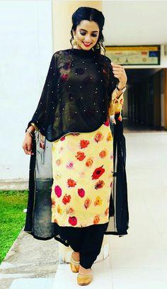 Casual Indian Fashion, Punjabi Fashion, Women's Fashion, Embroidery Suits Punjabi, Embroidery Suits Design, Designer Punjabi Suits, Indian Designer Wear, Casual College Outfits, Punjabi Suits Party Wear