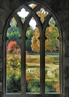 chapel window view