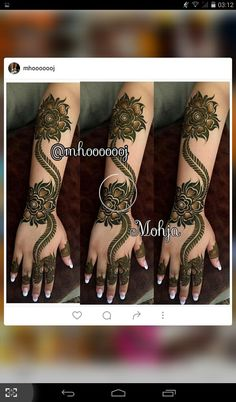 Palm Henna Designs, Hena Designs, Mehndi Designs 2018, Mehndi Design Pictures, Mehndi Designs For Hands, Mehndi Images, Bridal Mehndi Designs, Mehandi Designs, Henna Mehndi