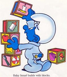 BABY SMURFS FIRST WORDS
