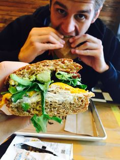 Organic and locally sources sandwiches - Seattle Fremont neighborhood @ Homegrown.