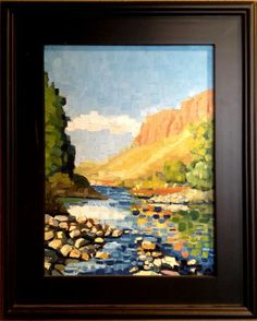 """""""Late Summer Shadows"""" by Mark Leichliter available through Columbine Gallery on Amazon Fine Art"""