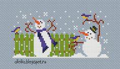 Мои творилки: Веселые снеговички!