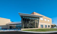 Galena High School Expansion project by Corner Greer & Associates in Joplin, Mo Education Architecture, Architecture Design, Design Firms, Innovation Design, The Expanse, Architects, High School, Mansions, House Styles