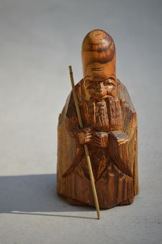 A personal favorite from my Etsy shop https://www.etsy.com/listing/204240000/japanese-carved-wood-netsuke-statue-of