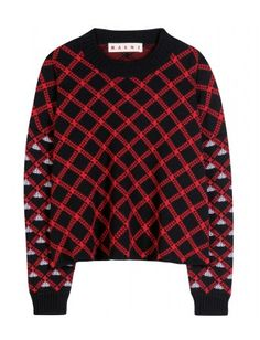 #marni - intarsia wool sweater