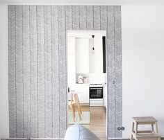 ferm LIVING Herringbone wallpaper: http://www.fermliving.com/webshop/shop/wallpaper/herringbone-wallpaper.aspx