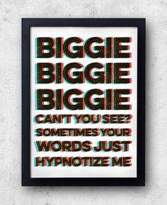 Hey, I found this really awesome Etsy listing at https://www.etsy.com/listing/203701090/biggie-hypnotize-poster-notorious-big