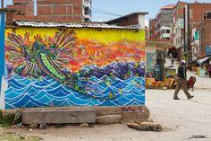 El arte urbano en Bolivia vive una realidad interesante, espacios completamente distintos a la de las grandes urbes vanguardistas del arte urbano como Barcelona, New york, Berlin, París entre los más destacados en el mundo, muestran unas obras integradas que cohabitan y forman parte de lugares en ocasiones impresionante. Es el caso de la obra…