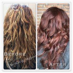 Hair color red hair By Teri Ward 478-3570 Cincinnati hair