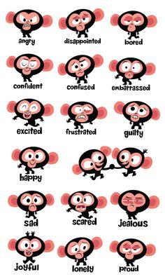 monkey emotions