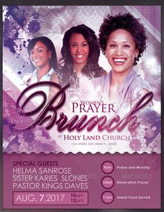 Image result for prayer brunch themes Prayer Breakfast, Island Food, Praise And Worship, Holy Land, Church Ideas, Special Guest, Conference, Restoration, Prayers
