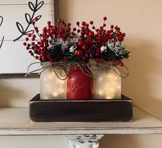 Are you searching for ideas for farmhouse christmas tree? Browse around this website for cool farmhouse christmas tree images. This kind of farmhouse christmas tree ideas appears to be completely fantastic. Christmas Dining Table, Farmhouse Christmas Decor, Christmas Home, Christmas Wreaths, Holiday Decor, Seasonal Decor, Christmas Decor For Mantle, Farmhouse Decor, Christmas Bathroom Decor