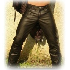 Mens Nappa Leather Jeans Pant Light Weight 5 Pockets Model Brand New All Sizes