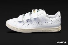 Puma Court Star Velcro White-white-whisper white Sizes: 36 to 46 EUR Price: CHF Unisex      Baskets, Chf, Adidas Stan Smith, White White, Whisper, Switzerland, Adidas Sneakers, Unisex, Star