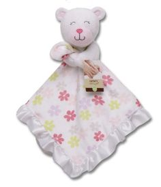 Carter's Plush Security Blanket, Pink Bear Carter's http://www.amazon.com/dp/B005537BOK/ref=cm_sw_r_pi_dp_AHUnub0Y25ME5