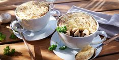 Rezept Champignon-Töpfchen mit Haube