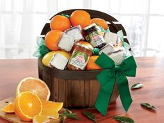 Simply Florida | Florida #Orange & #Grapefruit Gift #Basket - Hale Groves