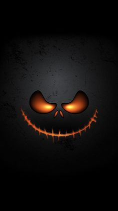 pumpkin face Halloween Wallpaper