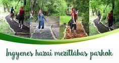 12 ingyenes hazai mezítlábas park, amit imádni fogtok!