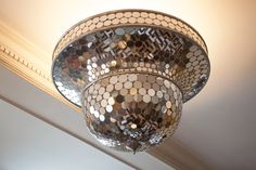 If a disco ball and a Moroccan lantern had a baby, this would be it!