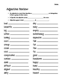 adjective worksheet read the paragraph circle all the adjectives write the adjectives on the. Black Bedroom Furniture Sets. Home Design Ideas