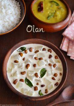 Olan Recipe Raitha Recipes, Curry Recipes, Indian Food Recipes, Veg Recipes Kerala, Snack Recipes, Cooking Recipes, Aviyal Recipe, Veg Curry, Recipes