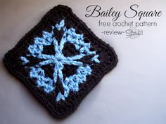 Bailey Square – Free Crochet Pattern – Review