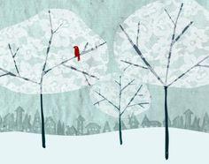 Lace Trees 8x10 print van allicoate op Etsy