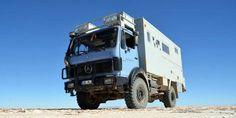 Der Mercedes 1017 A als Reisemobil | Reiseblog Keine Eile