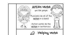 Infinitives & Participles Interactive Notebook Activity