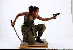 Advanced Figure Drawing 2012: Poses with guns, swords, and fighting