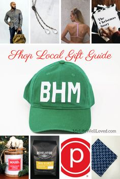 Shop Local Gift Guide || Independent Small Business Gift Guide || My Life Well Loved