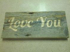 Love you old piece of wood.  Made with cnc router.
