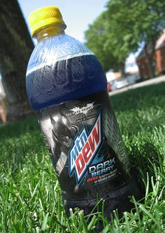 It's the review that Batman would love... our take on Mountain Dew Dark Berry!
