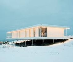Image 4 of 37 from gallery of Plastic House II / Unit Arkitektur AB. Photograph by Per Nadén Residential Architecture, Architecture Design, House Of The Rising Sun, Facade House, House Facades, Stair Railing, Stairs, Story House, Modern House Design