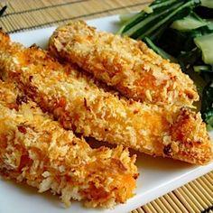 Spicy chicken fingers